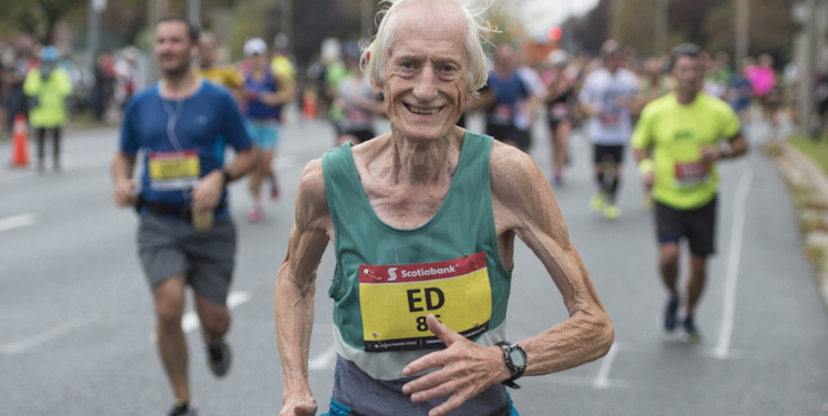 Ed Whitlock Surely One Of The Greatest Athletes Last Thirty Years Is Not A Superhumanly Fit Long Distance Runner In Way These Things Are
