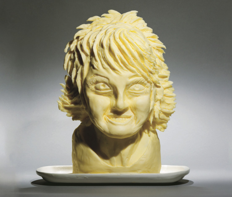 Paula Deen in butter by Laura Lynn Johnston