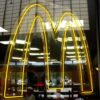 An outpost of McDonald's at a Walmart. Photograph: Rusty Clark/Flickr